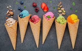 انواع بستنی ، فروشگاه مهدیار