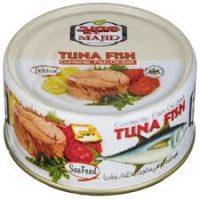 کنسرو تن ماهی و غذای دریایی