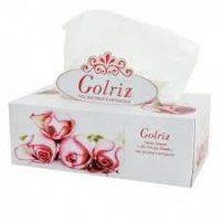 گلریز دستمال کاغذی جعبه ای گلدار۳۰۰ برگ