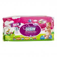 لوسین دستمال مرطوب حساس کودک ۷۲ورقه