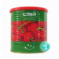 طراوت رب گوجه فرنگي قوطي800 گرم