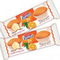 پيمان کيک دو قلو پرتقالي 36 عددي