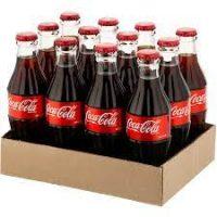 کوکا کولا نوشابه شيشه250ميلی 12عددي