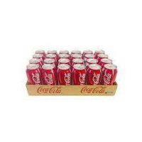 کوکا کولا نوشابه قوطي330 سي سي 24عددي