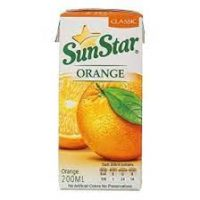 سان استار آبمیوه پرتقال یک لیتر