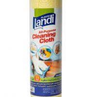 لندي دستمال پاک کننده چند منظوره 25تيکه