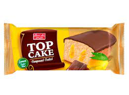 تاینی توب کیک باطعم لیمو و روکش فراورده