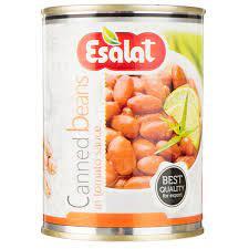 اصالت کنسرو خوراک لوبیا چیتی۳۸۰ گرم
