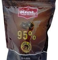 کرال شکلات تلخ کاکائویی ۹۵درصد ۲کیلویی