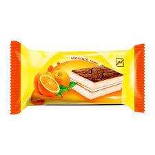 شیرین عسل کیک لایه ای باطعم پرتقال ۶۰گرم