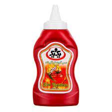يک و يک سس گوجه فرنگي کچاب550 گرم