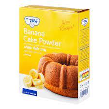 پگاه پودر کیک موزی نیمه آماده۵۰۰ گرم