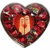 قافلانکوه شکلات ناپولي قلبي بسته يک کيلویی