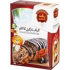 رشد پودر کیک نارگیل کاکائو۵۰۰گرم