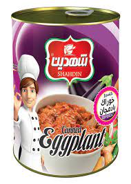 شهدین کنسرو خوراک بادمجان۳۷۰ گرم
