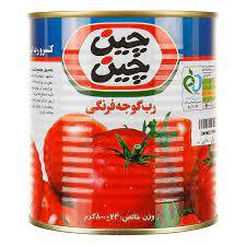 چین چین رب گوجه فرنگی قوطی۸۰۰ گرم