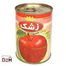 زشک کمپوت سیب۳۸۰گرم